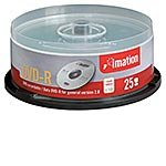 Imation 16x 4.7GB DVD-R Media (25-Pack,