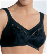 44E Sera Two Pocket Lined Cup Prosthesis Bra - Bla